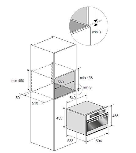 Fulgor - Abbattitore casalingo FBC 4500 TC X finitura acciaio inox 2